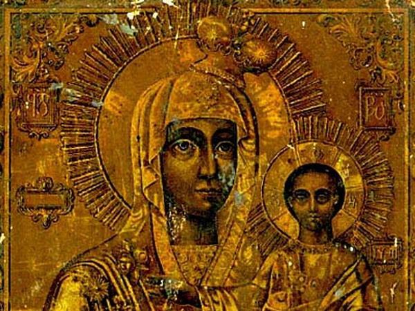 Список моздокской иконы божией матери