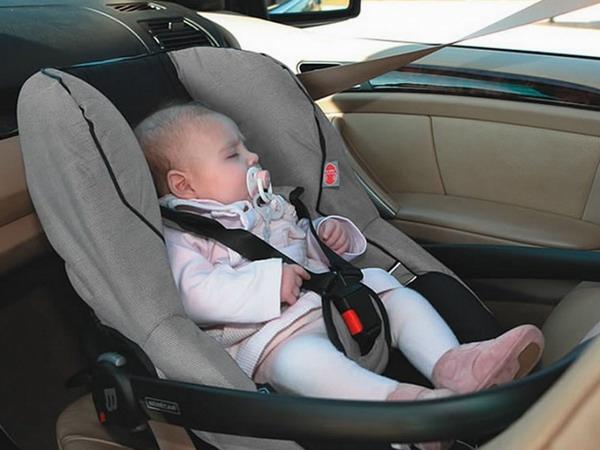согласился Как перевозить в машине грудного ребенка это